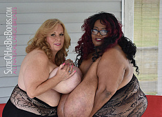 SuzieQ and Norma Stitz Giant Boobs