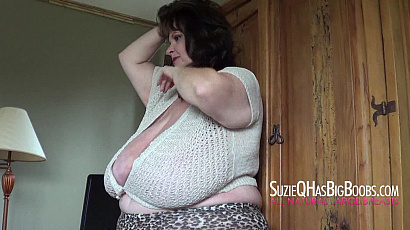 Suzie 44K Milf Monster Boobs