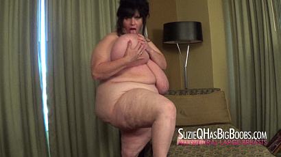 Suzie BBW Riding Dildo