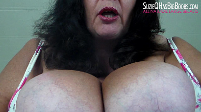 Suzie 44K Smoking Topless