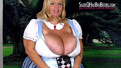 Amazing Suzie 44K Big Breasts