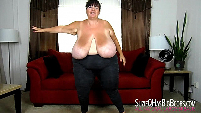 Suzie 44K Big Tits Exercises