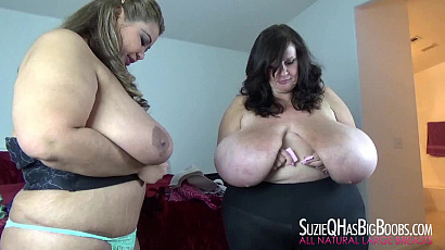 Suzie and Miss Ling Ling BBWs