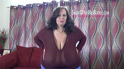 Suzie Large Breasts Sexy BBW