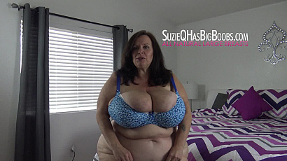Playing with Big Breasts in the Bedroom