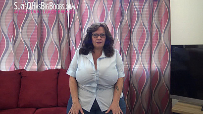 Suzie 44K Mature Big Boobs