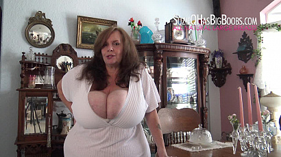 Suzie Playing with her Big Tits