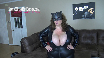 Suzie 44K Busty Cat Woman Domination
