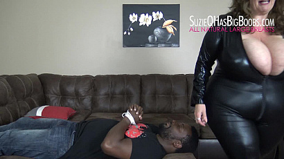 Suzie Interracial Busty Domination