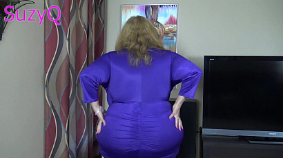 Suzie Q Huge Boobs in Dresses