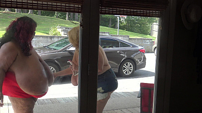 Suzie and Norma Tit Window Wash