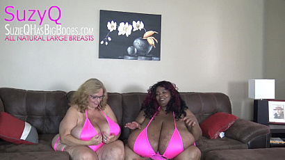 SuzieQ and Norma Stitz Breast Massages