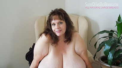 Suzie Q Big Boobs Self Sucks