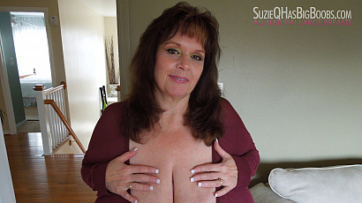Suzie Big Boobs No Bra