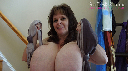 Suzie BBW Big Heavy Hangers
