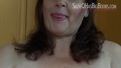 Suzie 44K Self Sucking Big Tits BBW