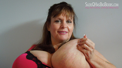 Suzie Big Boobs in PJs