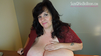 Suzie Fabulous Huge Boobs