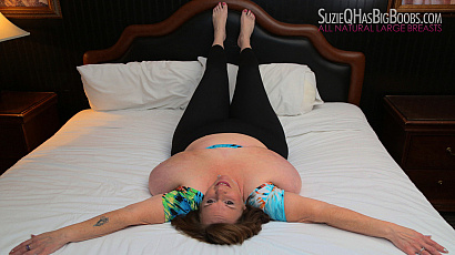 Suzie Q Big Boobs Bedroom Beauty