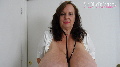 Suzie Nurse with Big Boobs
