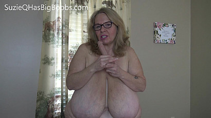 Suzie 44K Mommas Dildo Fun