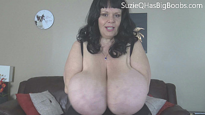 Suzie Titty Bouncing BBW
