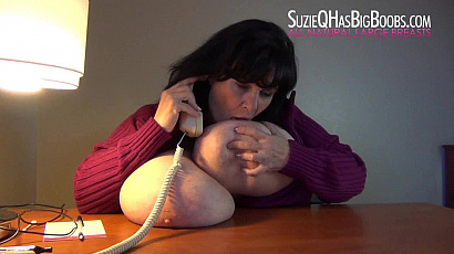 Suzie Phone Sex and On Back Jiggle Show