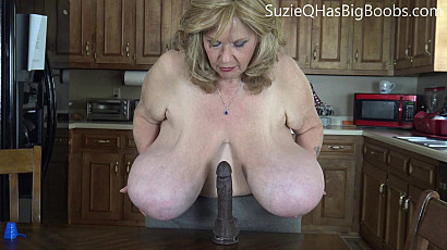 Suzie 44K Tit Fuck Dream