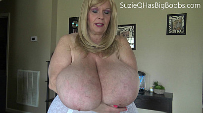 Suzie 44K Milf in Shapewear