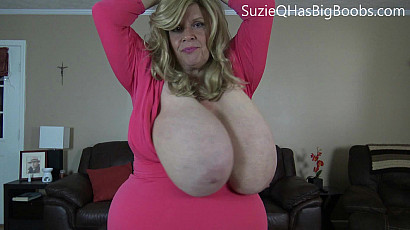 Suzie BBW with Giant Swinging Tits