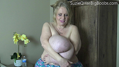 Suzie 44K Mature BBW with Unbelievable Boobs