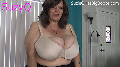 Suzie Does an H Cup Bra Fit