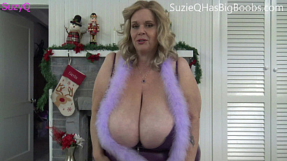 Suzie Busty Naked Present for You